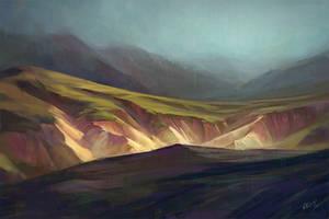 Northern Landscape : Iceland by O-l-i-v-i