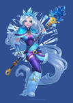 Who calls the Crystal Maiden?