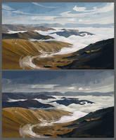 Landscape study #3 by O-l-i-v-i