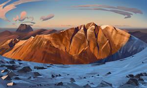 Landscape study #4 by O-l-i-v-i
