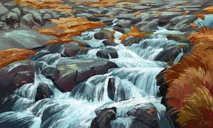 Landscape study #8 by O-l-i-v-i