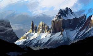 Landscape study #9 by O-l-i-v-i