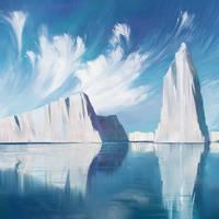 Glacier by O-l-i-v-i