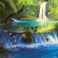 Jungle by O-l-i-v-i