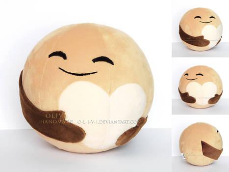 Handmade Pluto Planet Plush