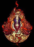 Sacred Radiance / Dota 2 / Phoenix by O-l-i-v-i