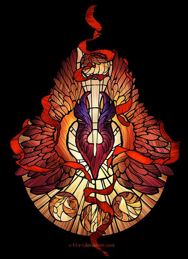 Sacred Radiance / Dota 2 / Phoenix
