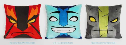 Three Spirits / Handmade Hero Pillows / Dota 2