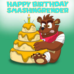 Happy Birthday SmashingRender