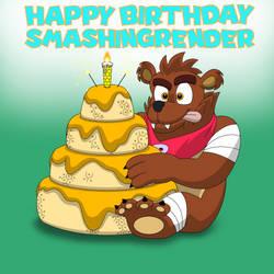 Happy Birthday SmashingRender by ShawnyBoyMaker