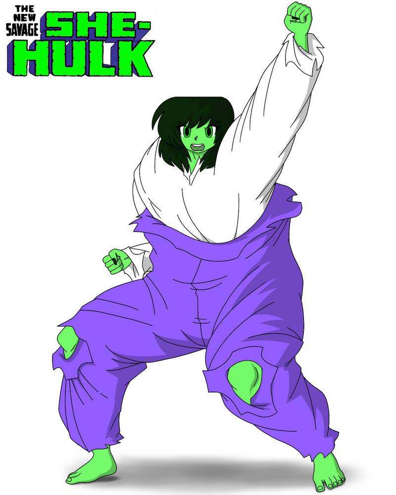 Another New Savage She-Hulk By ShawnyBoyMaker On DeviantArt