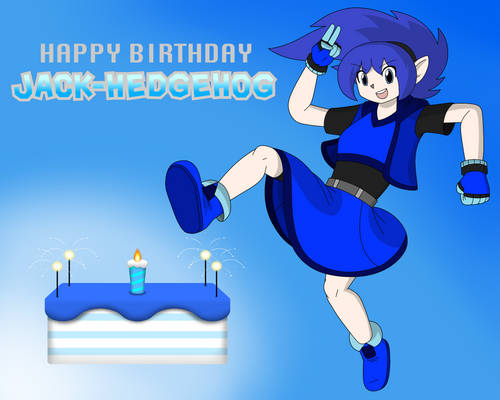 Happy Birthday Jack-Hedgehog