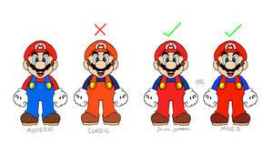Mario's True Classic Outfit