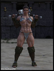 Playing With Elsie: Elsie the Barbarian 1 by FireHonest942