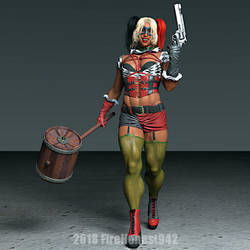 Playing With Elsie 229: Harley Quinn Cosplay by FireHonest942