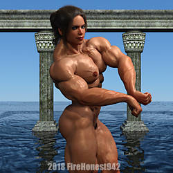 Playing With Elsie 243: Side Chest w Biceps by FireHonest942