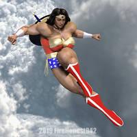 Cosplay: Belle Rider as Wonder Woman 01