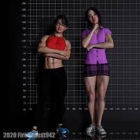 Pinups: Izumi Sisters 001