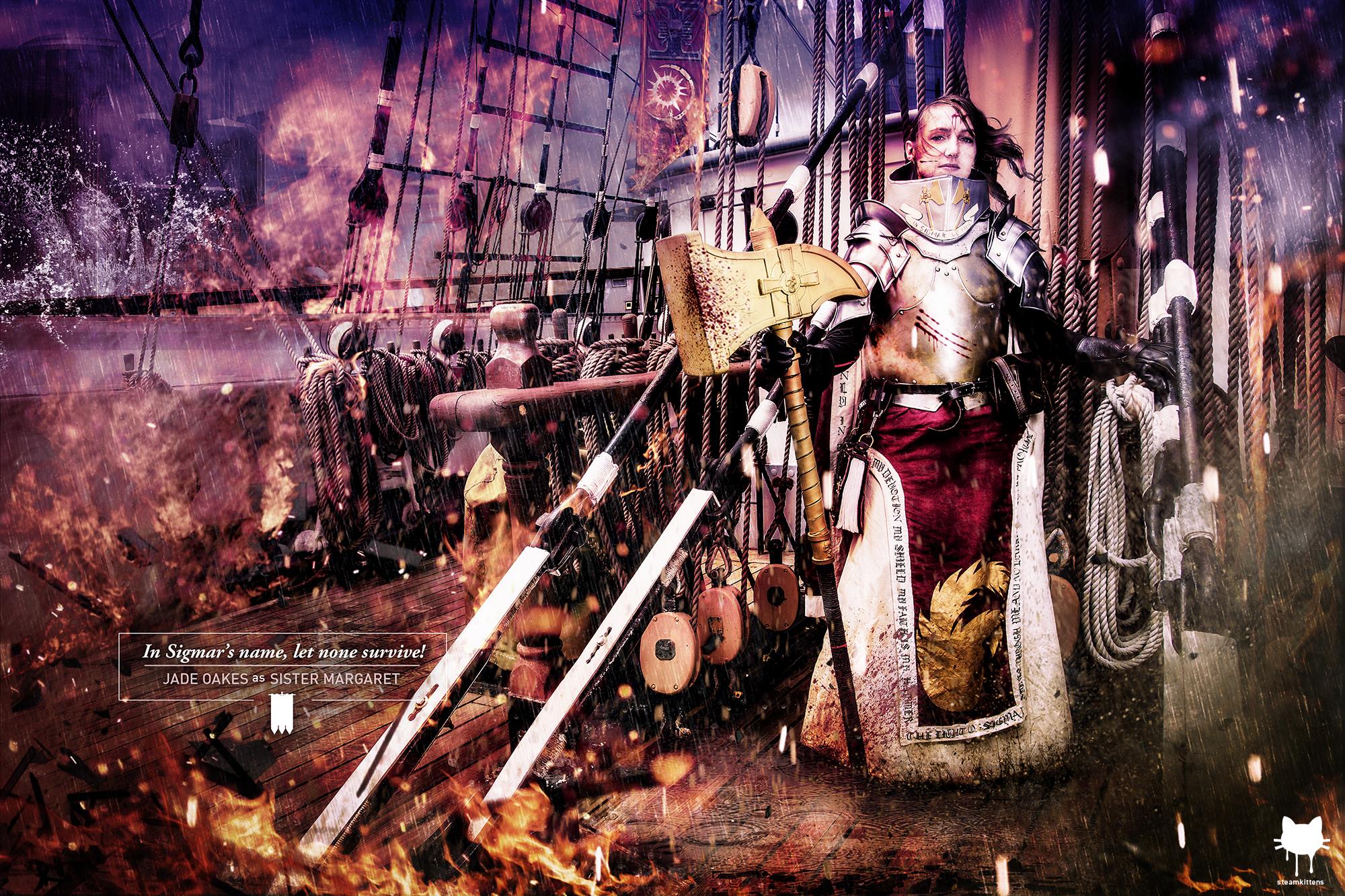 Warrior Priest of Sigmar by steamkittens