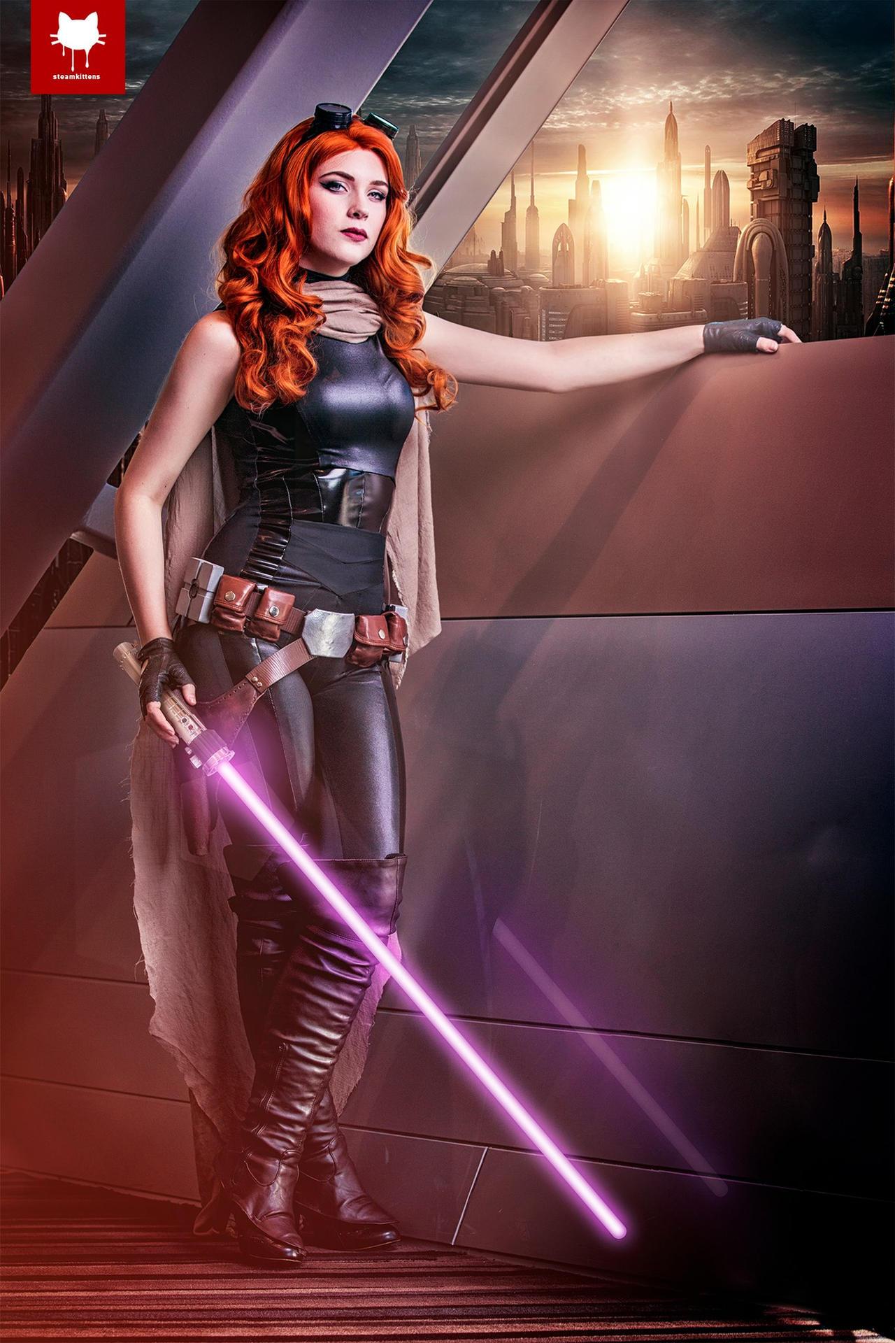 Mara Jade Skywalker by steamkittens