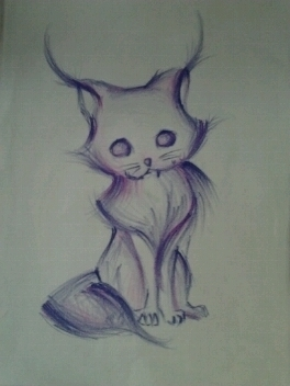 Purple Cat. by DpShadowOn