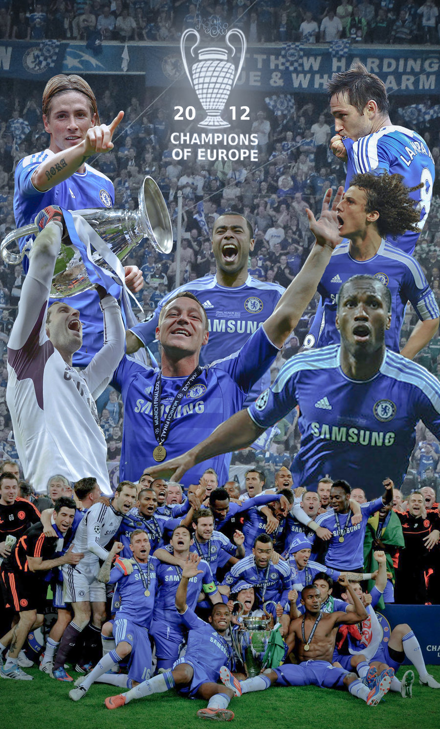 Chelsea FC - Champions of Europe 2012 by KojakoOw on ...