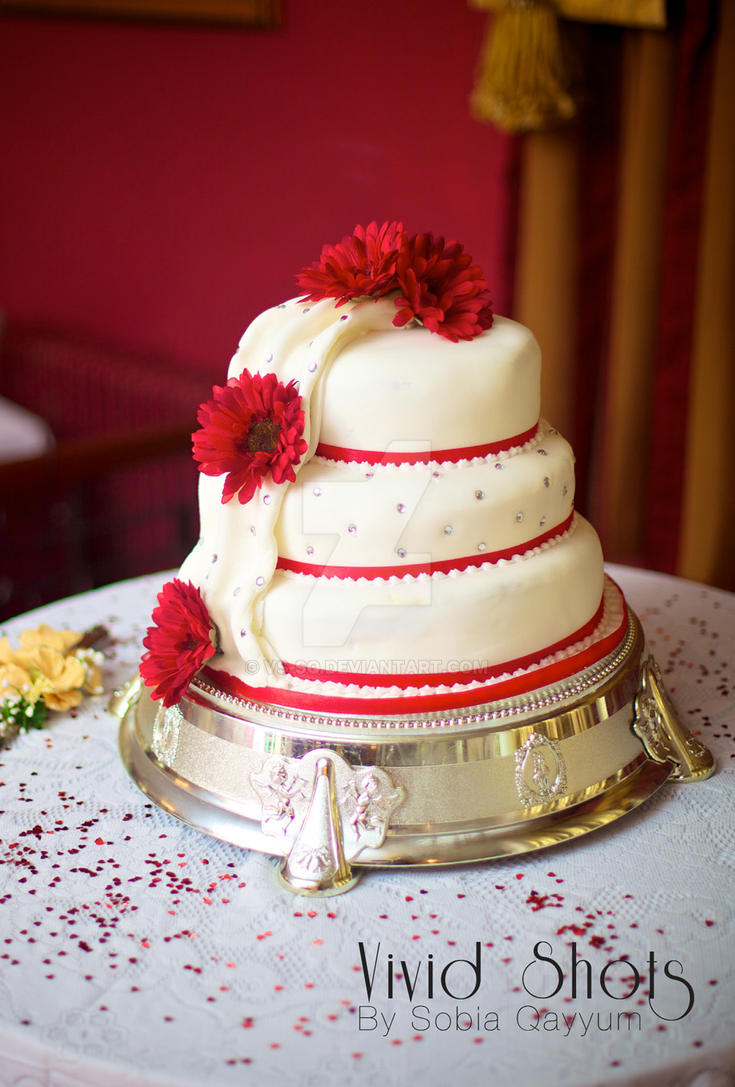 Flower Wedding Cake 3 by VS-SQ