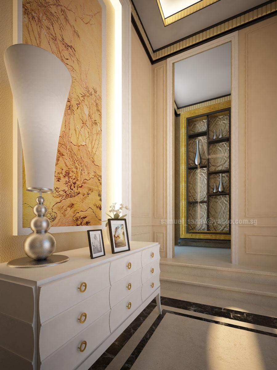 Foyer Layout Login : Interior foyer residence by sansamuel on deviantart