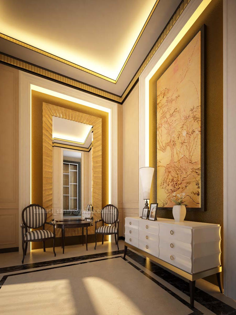 Art Foyer Frankfurt : Interior foyer residence by sansamuel on deviantart