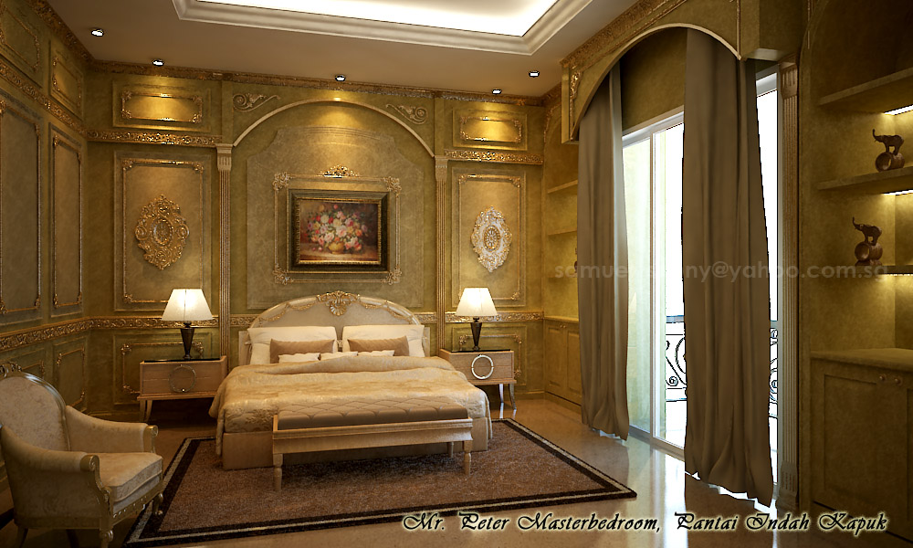 Fin interior classic bedroom 1 by sansamuel on deviantart for Interior design bedroom classic