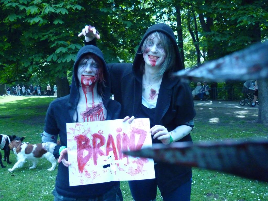 ZombieWalk Prague by Laitiel