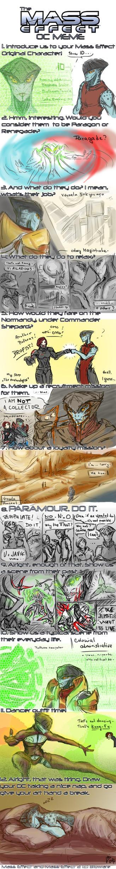 Mass Effect OC meme : Teishen by Laitiel
