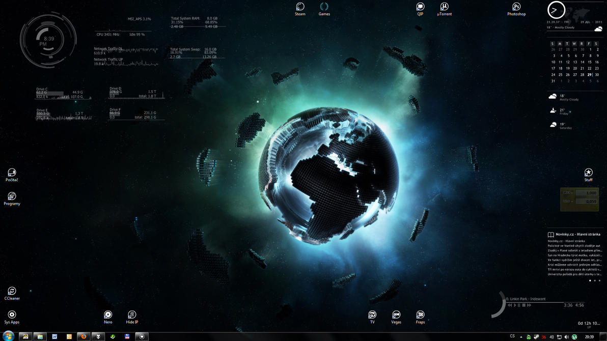 Lai's Desktop by Laitiel