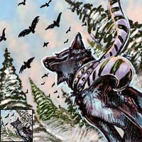 Winter Icons - Black Teagan by thornwolf