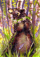 May Flowers - ACEO by thornwolf
