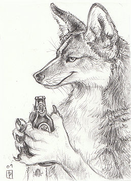One for Coyote ACEO