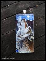 Fullmoonstar Custom Pendant by thornwolf