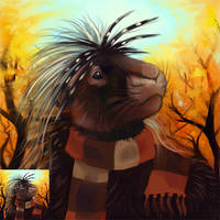 Autumn Icon - Kris by thornwolf