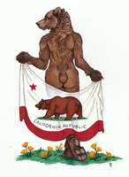 Ursus californicus by thornwolf