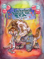Prom Night Werewolf by thornwolf