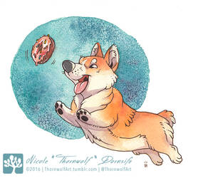 Donut Fetch by thornwolf