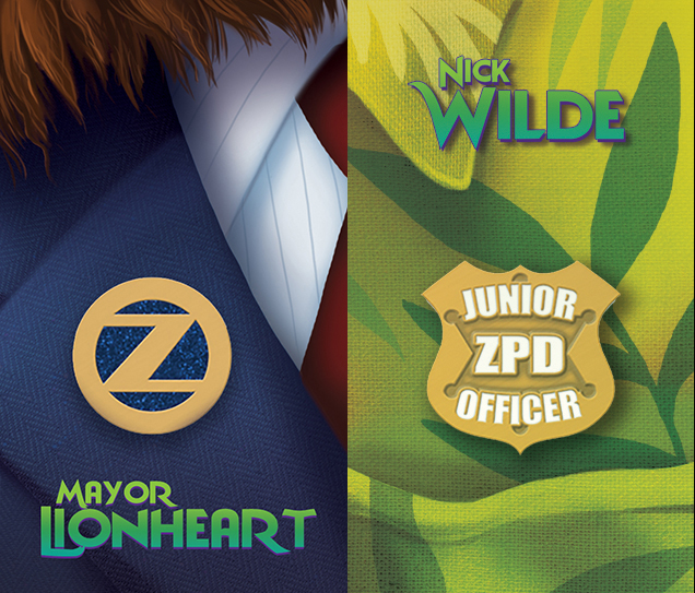 Zootopia Pins by thornwolf