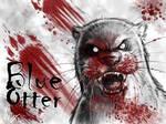 Blue Otter Horror Badge