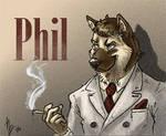 Phil Badge Blacksad Style