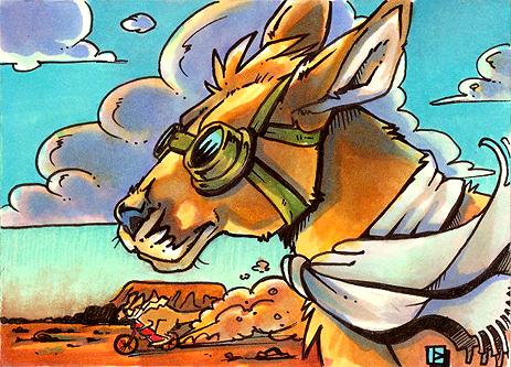 Kangavroom by thornwolf