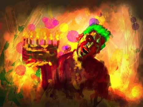 Zombie Joka Happy Badday......