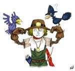 Pokemon X Digimon: Nohemon and Murkrow
