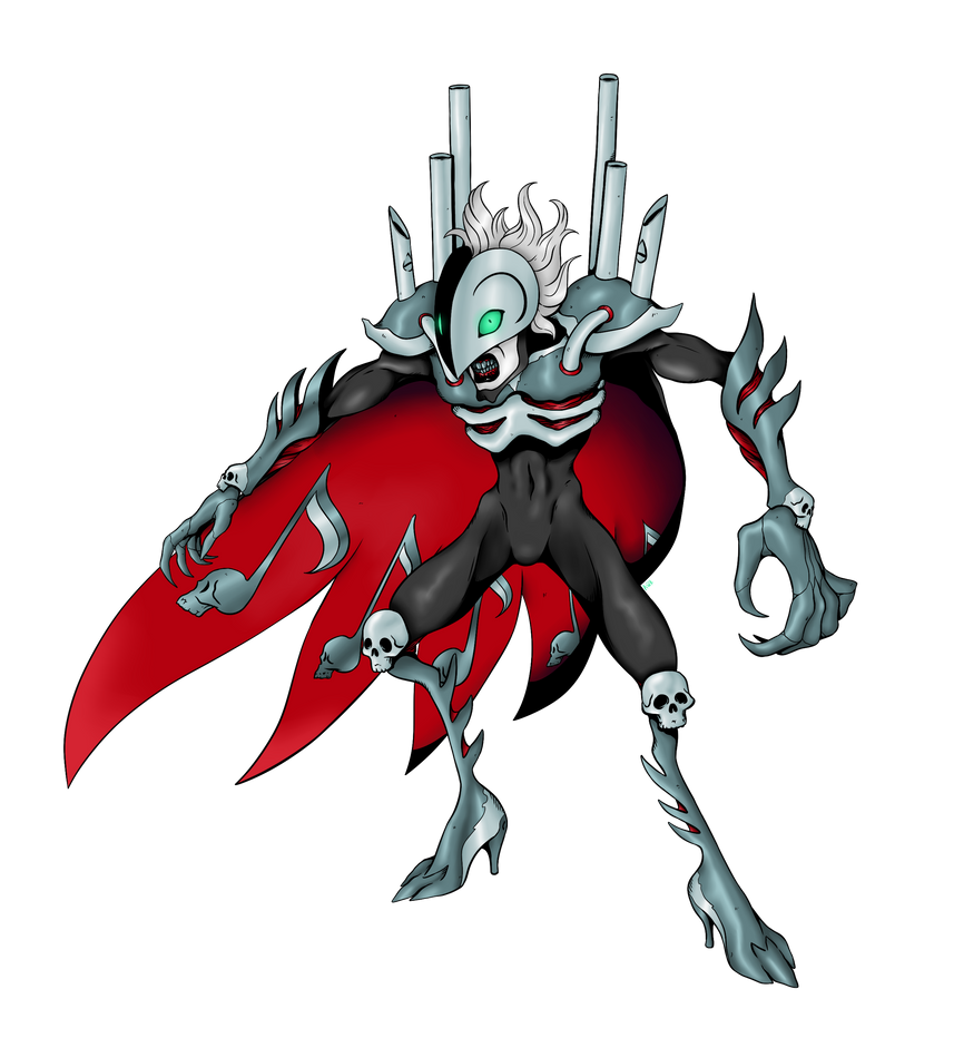 Fantomemon (Black) by AwkwardKlutz