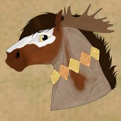 (1/2) Equine Headshot Art Payment