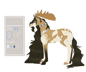Crystal Horse Breed| ID: 125